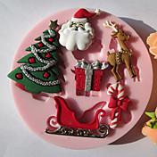1 環境に優しい ケーキ / クッキー / チョコレート シリコーン ベーキングモールド