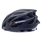MOON 女性用 男性用 男女兼用 バイク ヘルメット 25 通気孔 サイクリング マウンテンサイクリング ロードバイク サイクリング L:58-61CM M:55-58CM PC EPS