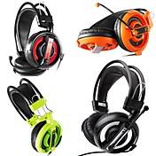 e-3lue 007 auriculares en materia de juego oreja con micrófono para PC