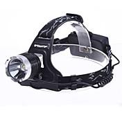 LED懐中電灯 ヘッドランプ ヘッドライト LED 1800 lm 3 モード - のために キャンプ/ハイキング/ケイビング 電池は含まれていません
