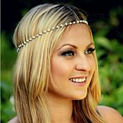 canlyn女性の真珠のブレスレット&ヘアバンド