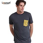 メンズファッションラウンドネック半袖Tシャツlesmart