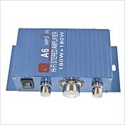 amplificador estéreo a6 180w oi-fi para carro / moto-azul