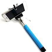 DFケーブルは、iPhone 5 / 5S / 6(アソートカラー)用のポール伸縮可能selfie手持ち一脚スティックホルダーを取ります