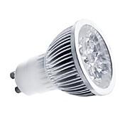 gu10 llevó el proyector mr16 1 de alta potencia llevó 350-400lm blanco cálido blanco frío 3000-3500k / 6000-6500k ac 85-265v