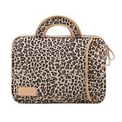 """13.3 """"14.1"""" 15.6 """"estampados de leopardo resistente a las sacudidas bolsas para portátiles con asa para dell ThinkPad macbook CV"""