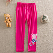 Pantalones Chica deAlgodón-Verano-Rosa / Morado