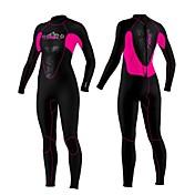 SLINX Mujer 3mm Trajes térmicos Traje de neopreno completo Mantiene abrigado Resistente al Viento Resistente a los UV Listo para vestir