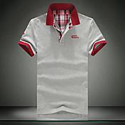 Camisetas ( Algodón Orgánico )- Casual Cuadrado Manga Corta