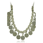 nueva moneda gitana vintage collar estilo femenino clásico