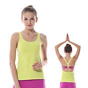 Yokaland Mujer Espalda Cruzada / Espalda Abierta Yoga Top - Blanco, Naranja, Verde Deportes Licra Chalecos / Tank Tops / Camiseta / Top