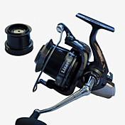 Carrete de la pesca Carretes para pesca spinning 4.1:1 14 Rodamientos de bolas IntercambiablePesca de Mar / Pesca al spinning / Pesca