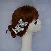 diadema de aleación de diamantes de imitación peinetas del pelo casco clásico estilo femenino