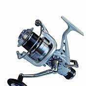 Carrete de la pesca Carrete para pez carpa / Carretes para pesca spinning 5.2:1 11 Rodamientos de bolas IntercambiablePesca de Mar /