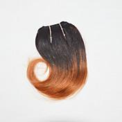 人間の髪編む ブラジリアンヘア ウェーブ 1個 ヘア織り