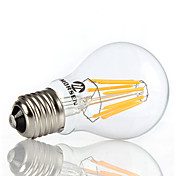 e26 / e27 bombillas de globo led a60 (a19) 4 mazorca 650-750lm blanco cálido blanco frío 3000k / 6000k decorativo ac 220-240 ca 110-130v