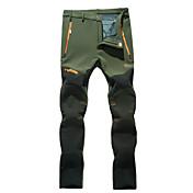 Hombre Pantalones para senderismo Al aire libre Impermeable Mantiene abrigado Resistente al Viento Resistente a la lluvia Listo para