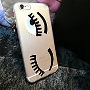 Para Funda iPhone 6 / Funda iPhone 6 Plus Transparente / Diseños Funda Cubierta Trasera Funda Dibujos Suave TPUiPhone 6s Plus/6 Plus /