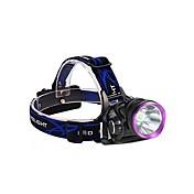 3Mode ヘッドランプ 自転車用ライト ヘッドライト LED 2000 lm 3 モード バッテリー&チャージャー付き 耐衝撃性 充電式 防水 キャンプ/ハイキング/ケイビング 日常使用 サイクリング 狩猟 旅行 ワーキング 多機能 登山