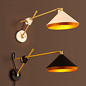 LED Lámpara con brazo flexible,Rústico/ Campestre Metal