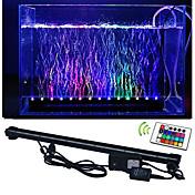 lm LEDアクアリウムライト 50 LEDの SMD 5050 防水 リモコン操作 装飾用 RGB AC 100-240V