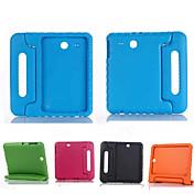 Para Funda Samsung Galaxy Antigolpes / con Soporte / Segura para Niños Funda Cuerpo Entero Funda Un Color Silicona Samsung Tab E 9.6