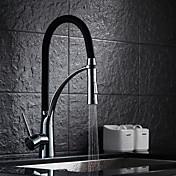 Sprinkle®キッチン用水栓  ,  過渡的  with  クロム シングルレバー 一つ  ,  特徴  for 引出式