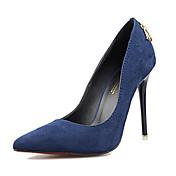 Mujer Zapatos Ante Primavera / Verano Tacón Stiletto Verde / Caqui / Azul Real / Vestido / Fiesta y Noche / Vestido / Fiesta y Noche