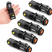 UltraFire SK68 Linternas LED LED 2000 lm 3 Modo Cree XR-E Q5 Zoomable Enfoque Ajustable Resistente a Golpes Impermeable Bisel de Impacto