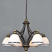 Vintage Lámparas Araña Para Sala de estar Dormitorio Comedor Habitación de estudio/Oficina AC 100-240V Bombilla no incluida