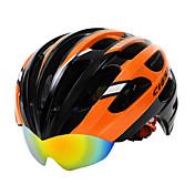 GIGNA Casco de bicicleta Ciclismo 27 Ventoleras Ajustable Montaña Fibra de Carbono + EPS Ciclismo de Montaña Ciclismo de Pista Ciclismo