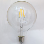7W E26/E27 LED-glødetrådspærer G125 8 leds COB Vandtæt Dekorativ Varm hvid 700lm 2700K Vekselstrøm 220-240V