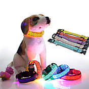 ネコ 犬 犬用ウェア LED つや消しブラック ホワイト イエロー レッド ブルー ピンク コスチューム ペット用