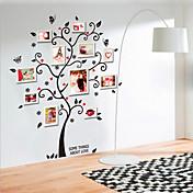 Botanisk Sille Liv Mode Vægklistermærker Fly vægklistermærker Dekorative Mur Klistermærker Materiale Kan fjernes Hjem Dekoration