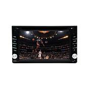 """6.2 reproductor de DVD del coche """"pantalla táctil lcd 2din en el tablero, radio estéreo, dvd, sd,"""