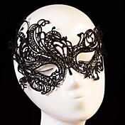 成人用 レース かぶと-結婚式 パーティー マスク 1個