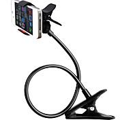 ユニバーサル柔軟な長い腕携帯電話ホルダーを回転さzxd360度は怠惰なクリップオンホルダースタンドマウント