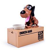 Hucha de perro Alcancia Hucha tragamonedas Hucha Hucha de juguete Perro robot Juguetes Novedades Perros 1 Piezas Niños Adulto Navidad