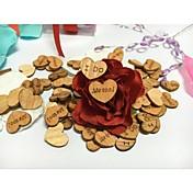 Boda / Pedida / San Valentín Madera Decoraciones de la boda Tema Playa / Tema Jardín / Tema Floral / Tema Fantástico Primavera Verano