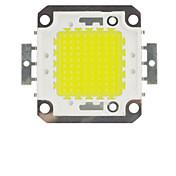 100ワットの10000lmの6000Kは(30-33v DC)クールホワイト電球ハイパワー省エネランプチップを冷たい白LEDチップ