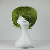 Mujer Pelucas sintéticas Sin Tapa Rizado Verde Peluca de cosplay Peluca de Halloween Peluca de carnaval Las pelucas del traje