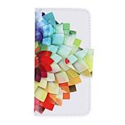 ケース 用途 Samsung Galaxy A5(2016) A3(2016) ウォレット カードホルダー スタンド付き パターン フルボディー フラワー ハード PUレザー のために A5(2016) A3(2016)
