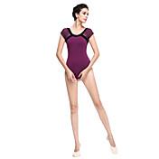 Ballet Tops Mujer Algodón Mangas cortas