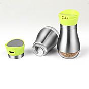 2pcs per set キッチン ステンレス プラスチック シェーカー&ミル