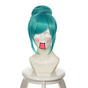 Pelucas sintéticas / Pelucas de Broma Recto Pelo sintético Peluca Mujer Peluca de cosplay Sin Tapa