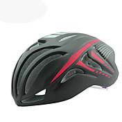 バイクヘルメット 18 通気孔 CE サイクリング 調整可 ワンピース エアロヘルメット マウンテン 超軽量(UL) スポーツ EPS+EPUレザー ABS PC EPS ロードバイク レクリエーションサイクリング サイクリング / バイク マウンテンバイク