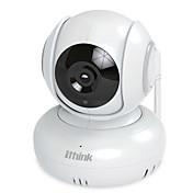 ithink®パンチルトCMOSワイヤレスWiFi HDカメラセキュリティカメラの動きの検出夜間視覚2つの方法