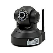 1.0 MP PTZ 屋内 with デイナイト 赤外線カット 64(デイナイト モーション検出 デュアルストリーム リモートアクセス ワイファイ・プロテクテッド・セットアップ(WPS) プラグアンドプレイ IRカット)