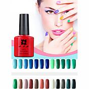 Gel UV para esmalte de uñas 10 1 Empapa Esmalte Gel UV de Color Empapa de Larga Duración