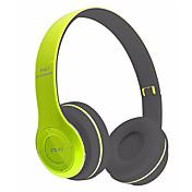 中性生成物 P47 ヘッドホン(ヘッドバンド型)Forメディアプレーヤー/タブレット 携帯電話 コンピュータWithマイク付き DJ ボリュームコントロール FMラジオ ゲーム スポーツ ノイズキャンセ Hi-Fi 監視 Bluetooth